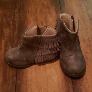 Toddler Fringe Boots